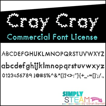 Simply STEAM Bubbles Cray Font License for Personal & Comm