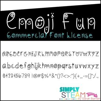 Font: Emoji Fun Font Commercial License