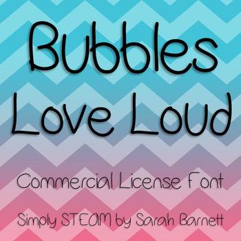 Love Loud Font Commercial License