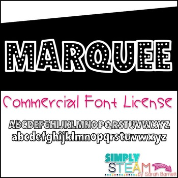 Font License - Bubbles Marquee {COMMERCIAL LICENSE}