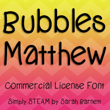 Matthew Font Commercial License