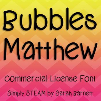Matthew Font Commercial License