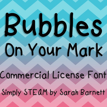 On Your Mark Commerical Font License