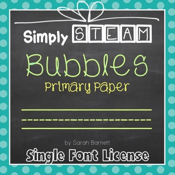 Primary Paper Font License for Personal & Commercial Use