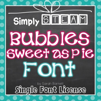 Sweet as Pie Font Commercial License