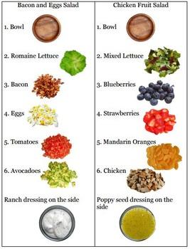 Simply Salads Life Skill Task