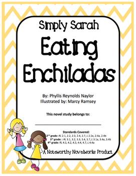 Simply Sarah: Eating Enchiladas - Novel Study / Key
