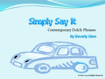Simply Say It