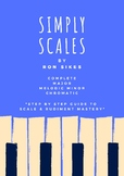 Simply Scales - A Step-By-Step Guide to Scale & Rudiment Mastery