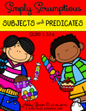 Subjects and Predicates are Scrumptious! {A Small Group Game}
