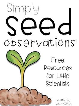 Simply Seed Observations {FREEBIE}