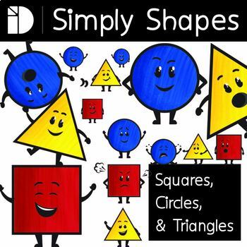 Simply Shapes - Square, Circle and Triangle Pack