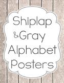 Simply Shiplap Print Alphabet