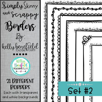 Simply Skinny and Scrappy Borders Growing Bundle