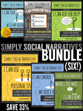 Social Stories - Simply Social Narratives BUNDLE (SAVE 33%)