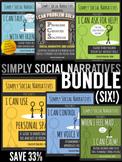 Social Stories - Simply Social Narratives BUNDLE (SAVE 33%)