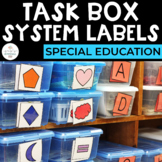 Simply Special Task Box System: For Autism and Special Edu