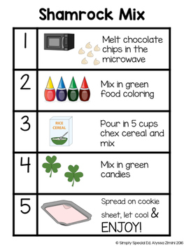 Simply Special Visual Recipes: Shamrock Mix
