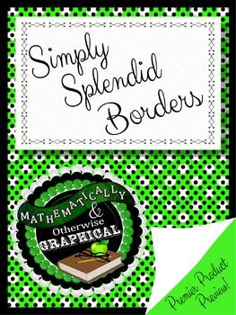 Simply Splendid Borders