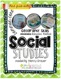 Simply Sprout Social Studies Geography Interactive Noteboo