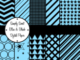 Simply Sweet Blue and White Digital Paper Pack