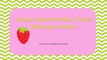 Simply Sweet Number Treats 2, Missing Number