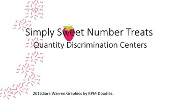 Simply Sweet Number Treats, Quantity Discrimination