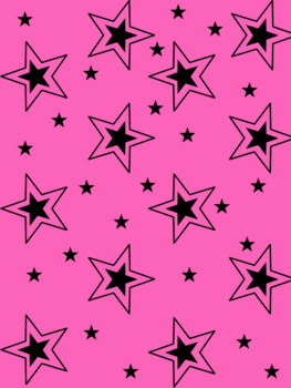 Simply Sweet Pink and Black Digital Paper Pack