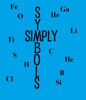 Simply Symbols:Element and Symbol Matching Worksheet