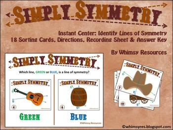 Simply Symmetry Math Center Western Theme