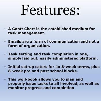Simply Tools: Task Management; Gantt Chart
