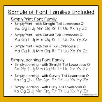Tracing Font - Handwriting Font - Early Writers - Kindergarten Font - PreK  Font