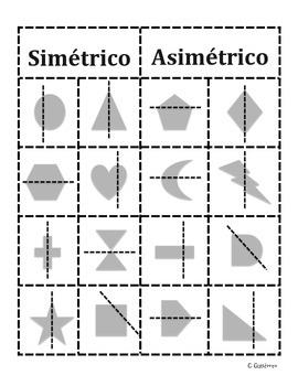 Simétrico y asimétrico