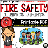 Fire Drill;Seguridad contra Incendios. Book, Poster, Printable{English/ Spanish}
