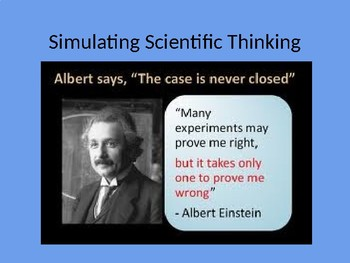 Simulating Scientific Thinking