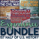 Simulation Bundle 13 Colonies American Revolution and Civil War Engaging and Fun