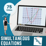 Simultaneous Equations - , 9th - 10th grades, GCSE (1-9)