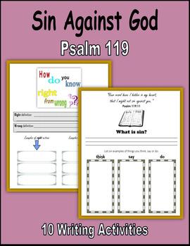 Sin Against God (Psalm 119)