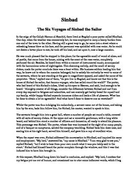 Sinbad - The Six Voyages of Sinbad the Sailor
