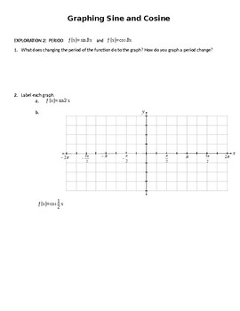 Sine/Cosine Graphing Project