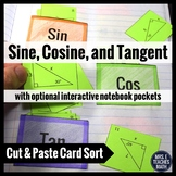 Sine Cosine Tangent Card Sort