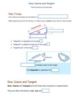 Sine, Cosine, & Tangent Introduction