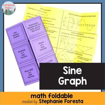 Sine Graph Foldable