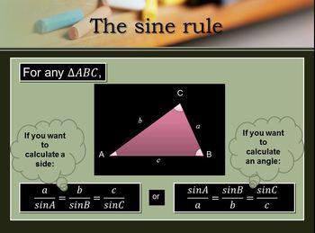Sine Rule - proof
