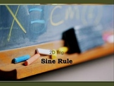 Sine Rule - proof