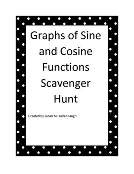 Sine and Cosine Graphs Scavenger Hunt