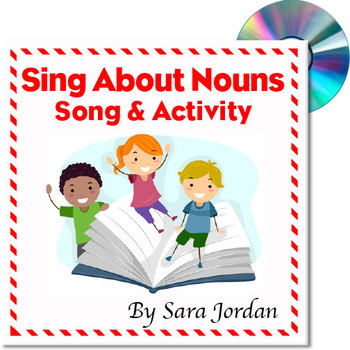 """Sing About Nouns"" - MP3 Song w/ Lyrics & Activity Teaching Nouns"