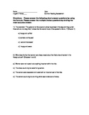 Sing Down the Moon Assessment-Common Core Aligned