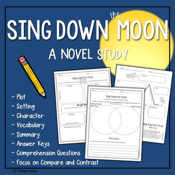 Sing Down the Moon Novel Study with Answer Key