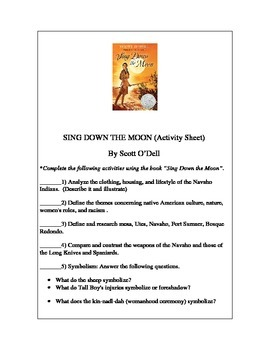 Sing Down the Moon Project